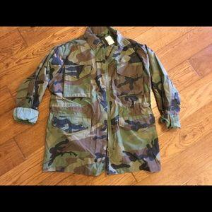 Top Shop Camo Jacket